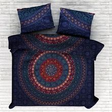 traditional hippie elephant mandala quilt comforter set
