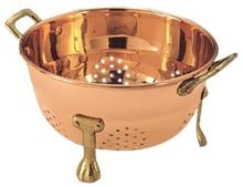 Copper Plated Stainless Steel Colander