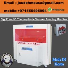 3d Thermoplastic Vacuum Forming Machine