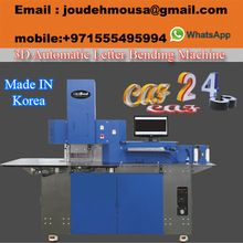 Automatic Channel Letter Bending Machine