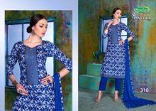 Sadaa Pancchi Cotton Embroidery Salwar Kameez
