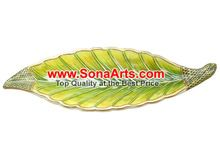 Leaf Bowl Carved From Makrana Marble