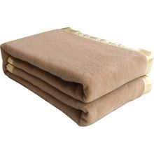 Hotel Wool Blankets With Satin Border