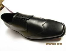 Brogue Cow Leather Dress Shoes