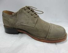 Grey Brown Casual Shoes