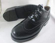 Leather Brogue Oxford Men Shoes