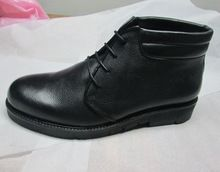Round Toe Rubber Sole Shoe