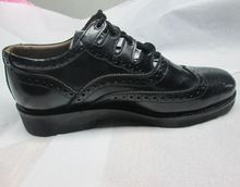 Rubber Sole Leather Shoe