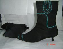 Synthetic Patent Leather Shoes