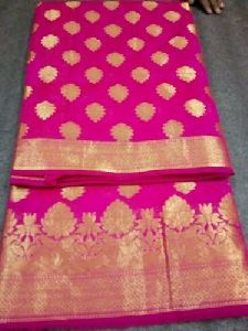 Banarasi Cotton Silk Saree