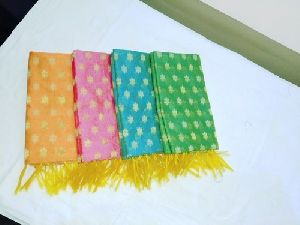 Fancy Ladies Pure Cotton Chanderi Dupatta