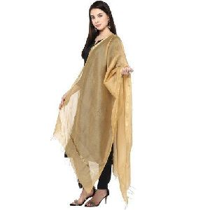 Golden Cotton Dupatta