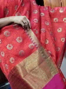 Kanchi Kora Silk Saree