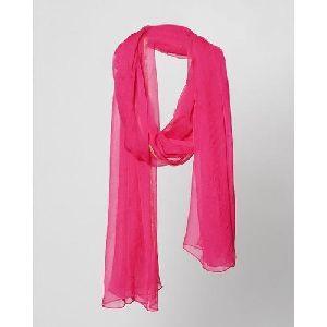 Pink Chiffon Dupatta
