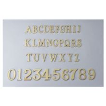 Heavy Duty Brass Door Numerals
