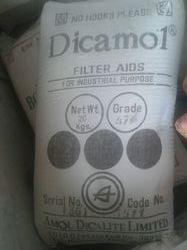 Dicamol Filter Aid Powder