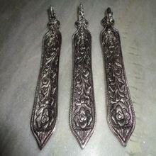 Carved Metal Incense Holders