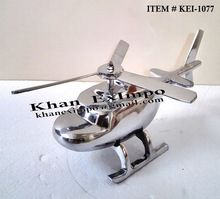 Aluminium Mini Helicopter Office Tableware