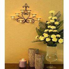 Bowl Centerpiece  Candle Tea Light Votive Holder