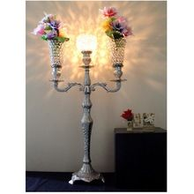 Globe Metal Candle Holder Candelabra