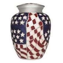 Urn American Flag