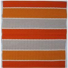 Hand Woven Stripes Floor Mat