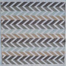 Indian Zig Zag Pattern Floor Mat