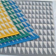 Modern Triangle Floor Mat