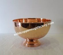 Copper Punch Bowl
