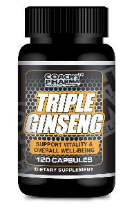 Triple Ginseng 120 Capsules