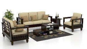 Sheesham Wood Sofa Set