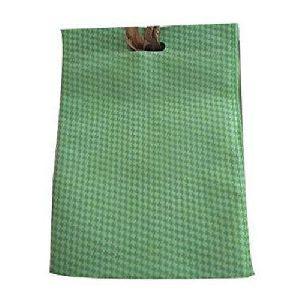 Green D Cut Non Woven Bags