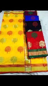 Ladies Banarasi Fancy Silk Saree