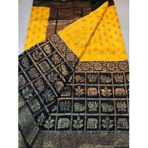 Ladies Fancy Dupion Silk Saree