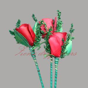 Handmade Colorful Bud Rose