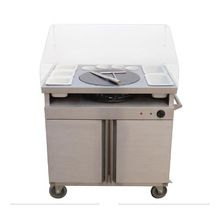 Crepe Maker With Mobile Servery Station