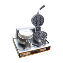 Electric Double Plate Ice Cream Cone Baker