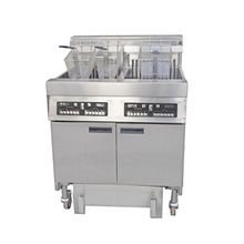 Electric Open Fryer With Oil Filter Cart
