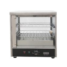 Stainless Steel Hot Food Display Counter Cabinets