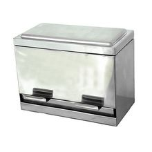 Stainless Steel Straw Box