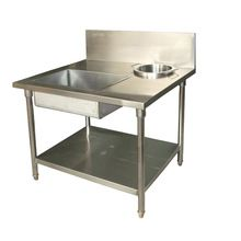 Stainless Steel Wrapping Power Working Table