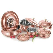 Copper Hammered Mughlai Handi