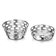 Stainless Steel Cylindrical Mesh Bread Basket