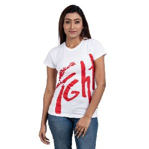 Womens White T-shirt