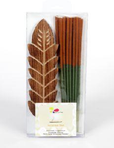 Dual Fragrance Incense Stick And Holder Set