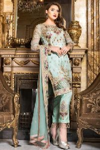 Ladies Chiffon Suits