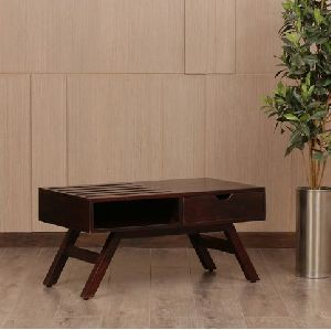 Encase Sheesham Wood Center Table