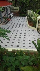 L-shaped Paving Block