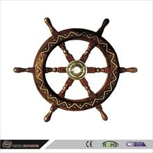 12: Wooden Ship Wheel
