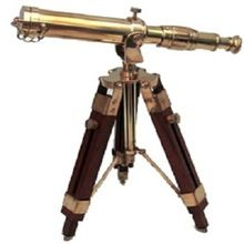 Four Fold Brass Telescope